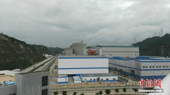 资料图:核电站。曹双 摄