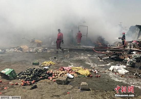 资料图:伊拉克发生炸弹爆炸袭击事件