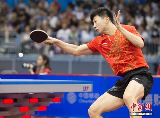 中国乒乓男队完胜瑞典队升级世乒赛决赛