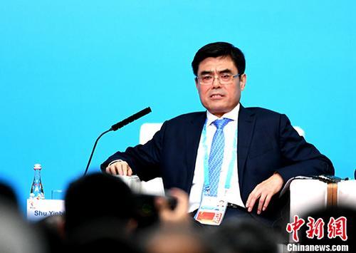资料图:舒印彪。 中新社记者 王东明 摄