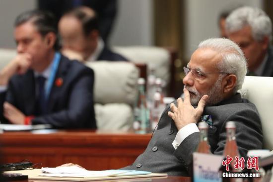 印度总理莫迪。