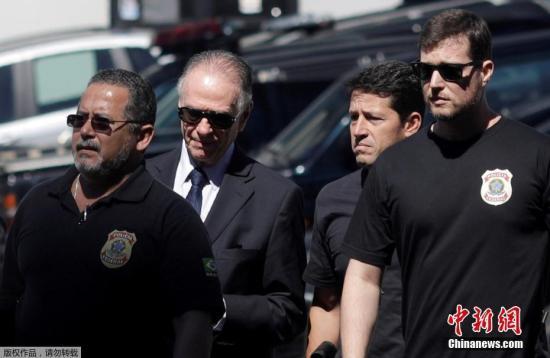 卡洛斯・努兹曼涉嫌参与里约热内卢申办奥运会期间可能存在的贿选事件。