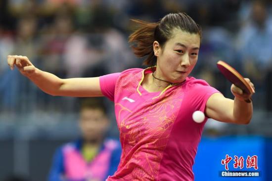 打发不测受重挫 中国乒乓女队逆转打败中国香港队进决赛