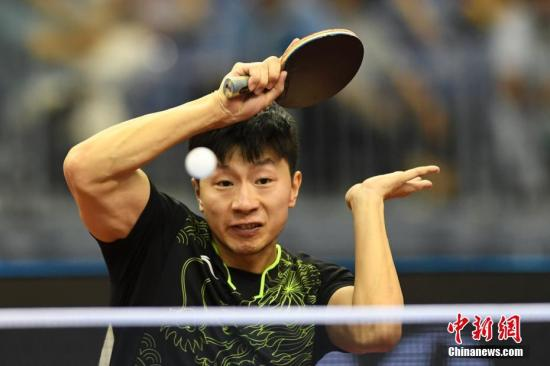 资料图:马龙。<a target='_blank' href='http://www.chinanews.com/'>中新社</a>记者 武俊杰 摄