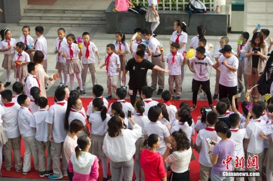资料图:教师节 张云 摄