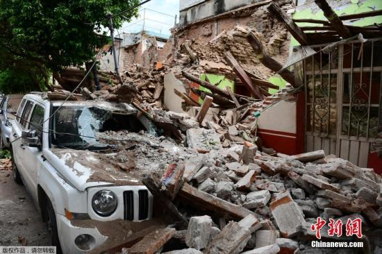 目前,墨西哥正加紧震后救援工作。