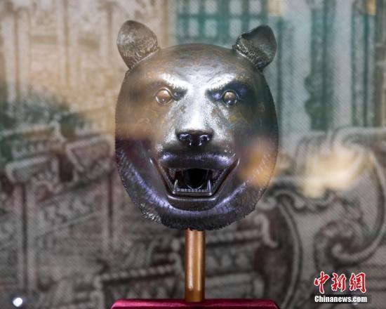 原料图:圆明园十二生肖兽首铜像。中新社发 苏阳 摄 图片来源:CNSPHOTO