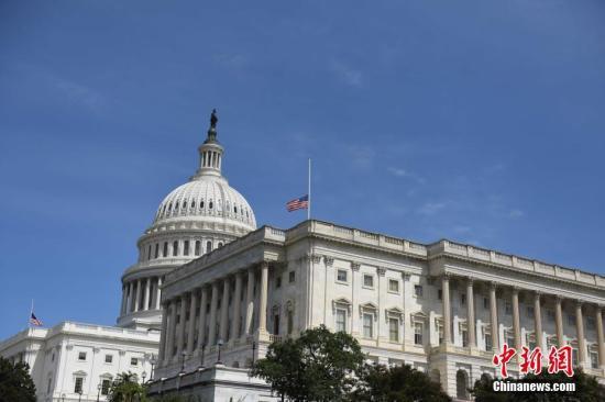 资料图:美国国会。 <a target='_blank' href='http://www.chinanews.com/'>中新社</a>记者 邓敏 摄