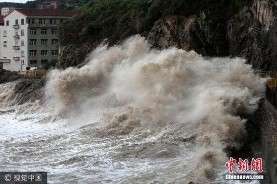 资料图:台风天气。李虎虎 摄 图片来源:视觉中国