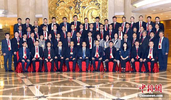 9月15日,中国国务院侨务办公室副主任谭天星在北京会见菲律宾旅菲各校友会联合会访问团。 <a target='_blank' href='http://www.chinanews.com/'>中新社</a>记者 张勤 摄