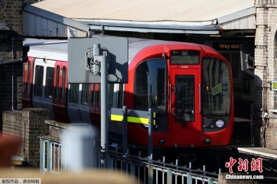 材料图:伦敦天铁。