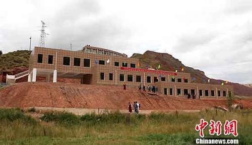 資料圖:青海藏區生活圖景。 <a target='_blank' href='http://www.chinanews.com/'>中新社</a>記者 張海雯 攝∵