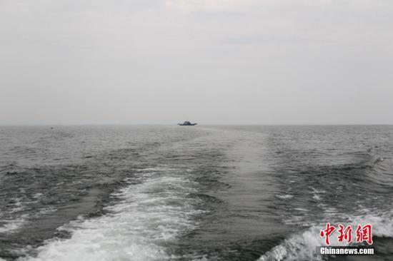 资料图:丹江口水库。记者 王中举 摄