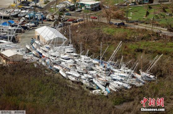 """外媒:飓风""""艾尔玛""""造成圣马丁岛超200人失踪"""
