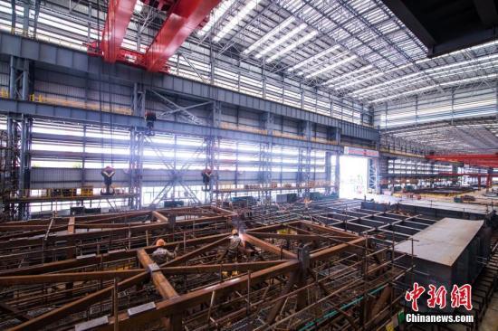 钢铁行业。李南轩 摄