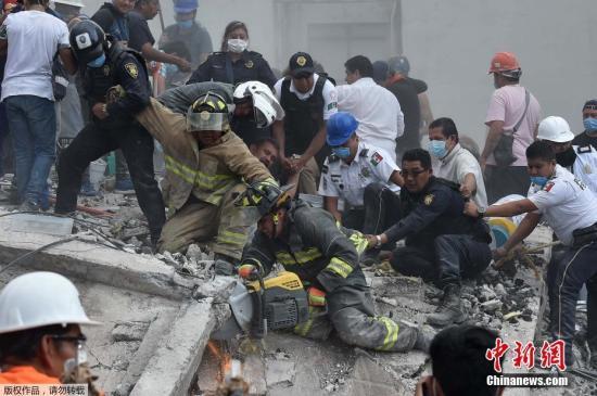 当地时间9月19日,墨西哥中部莫雷洛斯州发生7.1级地震,目前已导致数百人遇难。