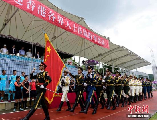 PLA's Hong Kong Garrison creates Weibo account
