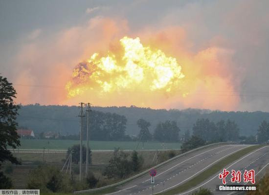 乌内务部通报说,目前尚无关于爆炸原因和伤亡情况的报告。