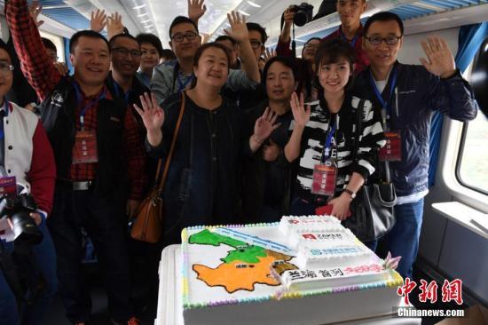 """兰渝铁路开通为中国西北经济""""提速"""""""