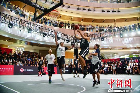 资料图:三对三篮球已经成为东京奥运会比赛项目。