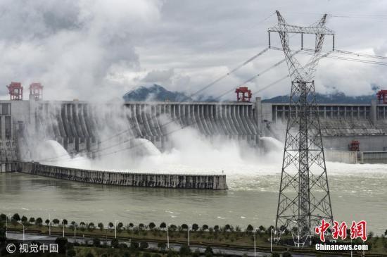 资料图:三峡大坝。 图片来源:视觉中国