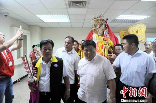 湄洲妈祖巡安台湾 加深两岸文化认同