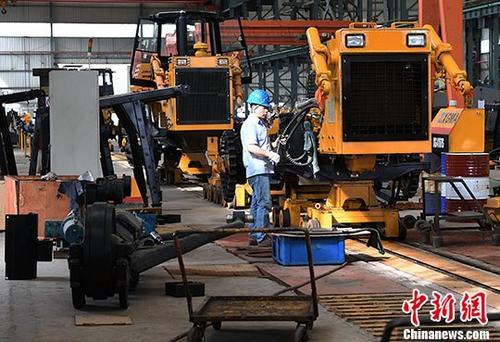 统计局:前5月全国规模以上工业