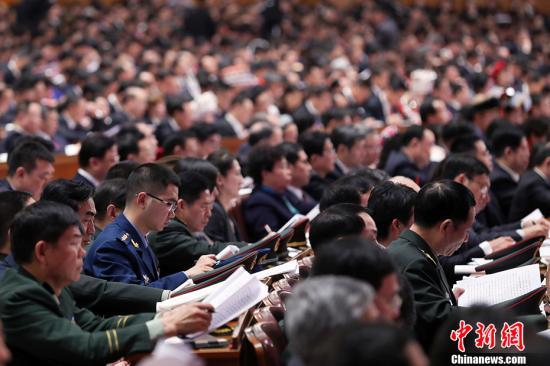 10月18日,中国共产党第十九次全国代表大会在北京人民大会堂隆重开幕。 中新社记者 盛佳鹏 摄