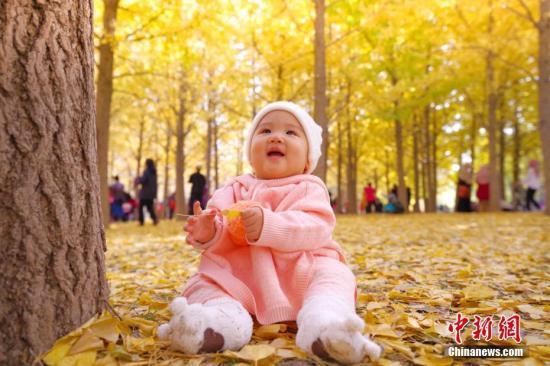 资料图:婴儿 中新社记者 贾天勇 摄