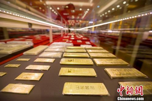 资料图:黄金。中新社记者 张云 摄