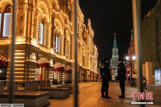 资料图:莫斯科的公共场所屡屡接到匿名炸弹威胁电话。