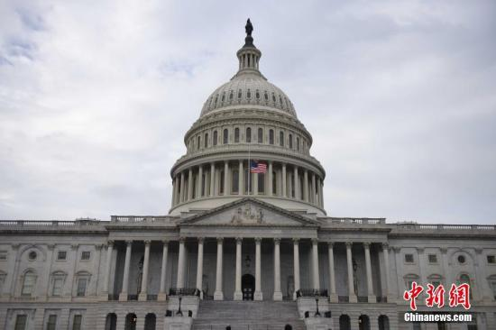 资料图:美国国会大厦。中新社记者 邓敏 摄
