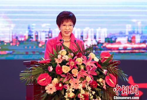 材料图:洪秀柱。a target='_blank' href='http://www.chinanews.com/'中新社/a记者 张畅 摄