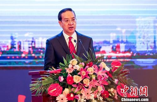资料图:蒋超良。<a target='_blank' href='http://www.chinanews.com/'>中新社</a>记者 张畅 摄