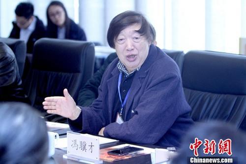 资料图:冯骥才。<a target='_blank' href='http://www.chinanews.com/'>中新社</a>记者 张道正 摄