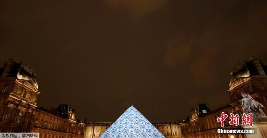 资料图:法国巴黎卢浮宫。