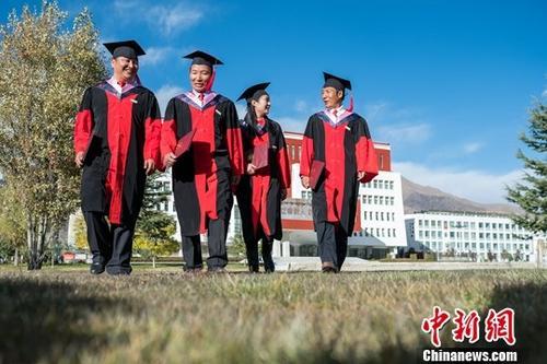 资料图:毕业生。中新社记者 何蓬磊 摄