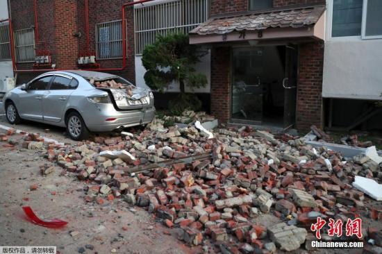 韩媒:韩国建筑抗震性能差 致浦项地震损失巨大