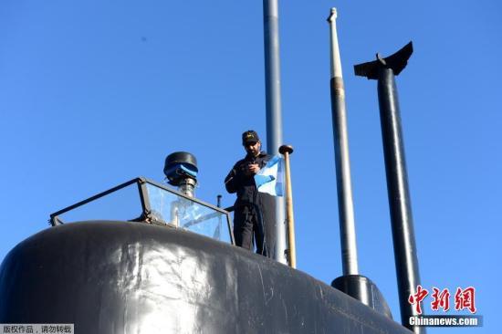 据路透社报道,阿根廷外交部说,目前正与一家专门从事卫星通讯的美国公司合作,追踪潜艇下落。(资料图)