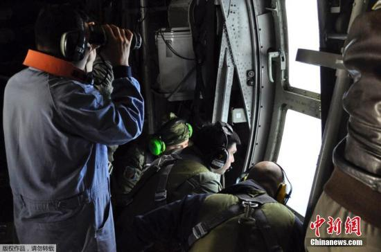 当地时间2017年11月22日,阿根廷,失联圣胡安号潜艇搜索行动继续。