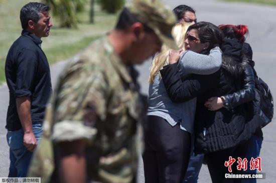 """当地时间2017年11月23日,阿根廷,阿根廷军方23日说,海军潜艇""""圣胡安""""号失联当天,其失联附近海域被检测到有爆炸发生。"""