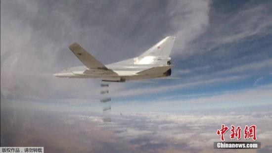 本月来,俄远程轰炸机多次出击,帮助叙利亚政府军打击极端组织。