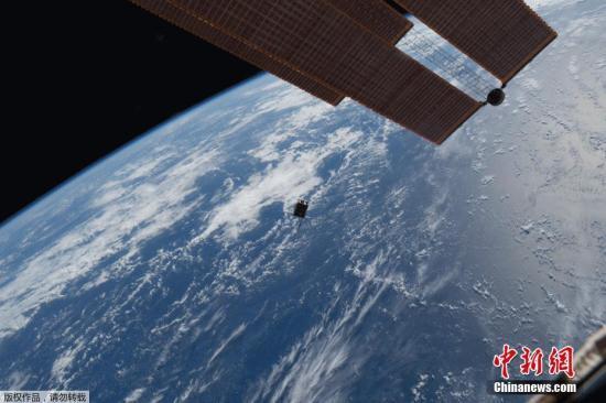 资料图:宇宙空间近地轨道。