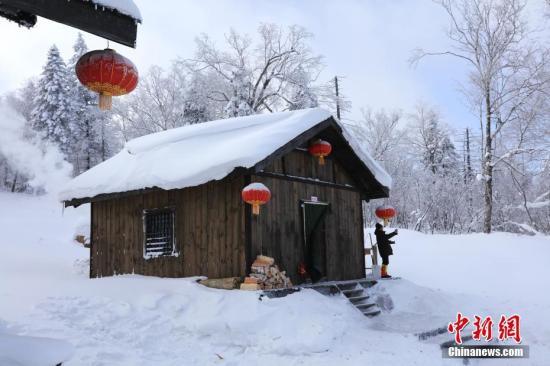 资料图:黑龙江雪景。中新社记者 于琨 摄