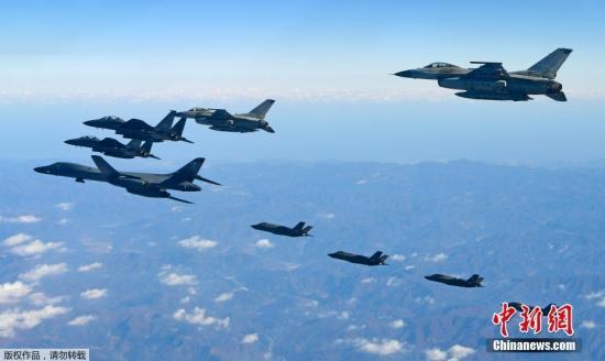 韩美联合军演预演2日开始 预计8日开始正式演习