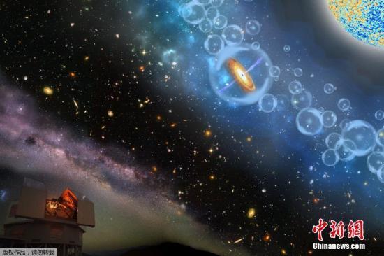 """2017年12月7日消息,美国卡耐基科学研究所科学家发现有史以来最遥远的超大质量黑洞,该黑洞质量是太阳质量的8亿倍。这与现今宇宙中发现的黑洞有着很大不同,此前发现的黑洞质量很少能超过几十倍的太阳质量。 麻省理工学院的物理学教授Robert Simcoe表示: """"这是一个超大质量黑洞,但是宇宙是如此的年轻,以至于这个东西不应该存在,宇宙还不足以制造一个如此巨大的黑洞,这是非常令人费解的。"""" NASA表示,科学家们正在猜测,一定有特殊的条件允许黑洞快速增大,但究竟是什么仍然是一个谜。"""