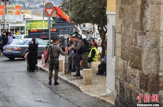 耶路撒冷的宗教圣地今天仍然是吸引外国游客的主要目的地。图为耶路撒冷街景。中新网记者 李雨昕 摄