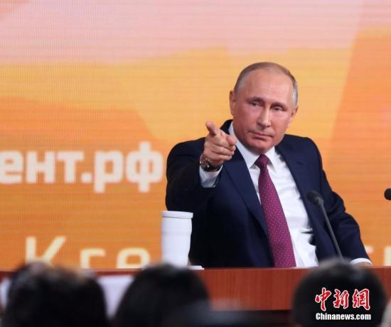 俄罗斯总统普京。 /p中新社记者 王修君 摄