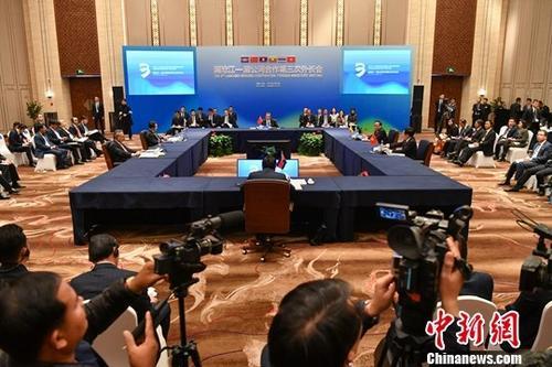 12月15日,澜沧江-湄公河合作第三次外长会在云南大理开幕。中新社记者 任东 摄