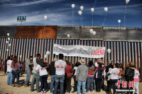 美媒:特朗普政府欲斥资180亿美元修建美墨边境墙